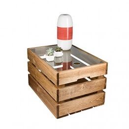 Das Original BestLoftR Couchtisch Beistelltisch Eine Kiste Glas