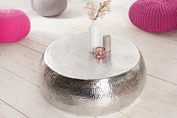 design-couchtisch-orient-90cm-aluminium-silber-hammerschlag-optik-unikat-tisch-handarbeit-3