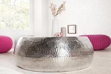 design-couchtisch-orient-90cm-aluminium-silber-hammerschlag-optik-unikat-tisch-handarbeit-6