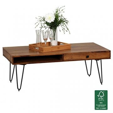 Tisch mit Gütesiegel