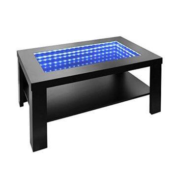 Home Deluxe - LED Tisch mit Tiefeneffekt- schwarz - 1