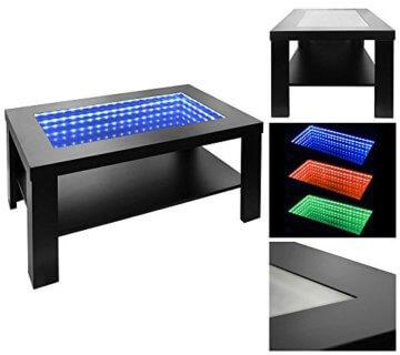 Home Deluxe - LED Tisch mit Tiefeneffekt- schwarz - 3
