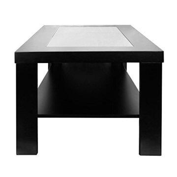 Home Deluxe - LED Tisch mit Tiefeneffekt- schwarz - 6