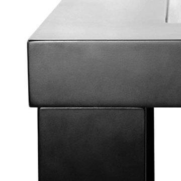 Home Deluxe - LED Tisch mit Tiefeneffekt- schwarz - 8