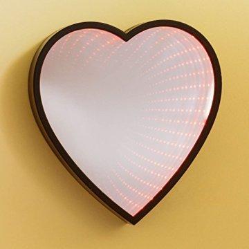 LOOM Infinity Herz LED Spiegel - Thumbs Up - 1002047 - 3