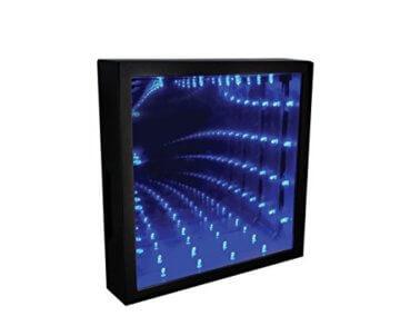 Paladone Infinity Light Die optische Täuschung LED Farbe ändern Licht - 1