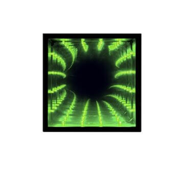 Paladone Infinity Light Die optische Täuschung LED Farbe ändern Licht - 2