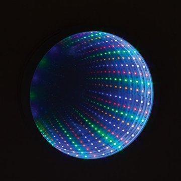 Sensorische Unendlichkeit Spiegel Tunnel Licht Entspannende Runde Wand Schreibtisch Stimmungslampe 42 LED - 5