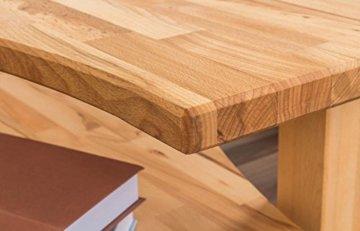 Couchtisch Wooden Nature 10 Kernbuche massiv bio geölt - Abmessung 110 x 47 x 70 cm (B x H x T) - 3