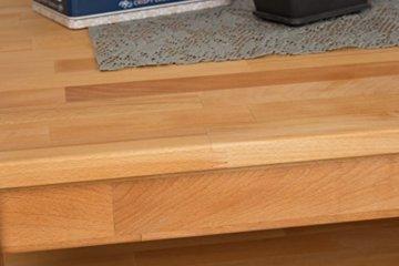 Couchtisch Wooden Nature 123 Kernbuche massiv - 80 x 80 x 45 cm (B x T x H) - 8
