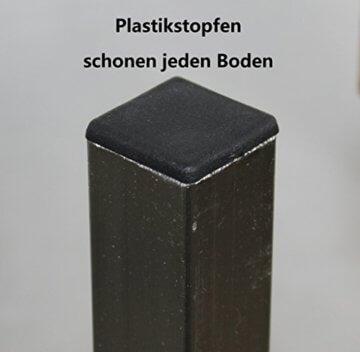 EIN Original-BestLoft® Barhocker Handmade Industriedesign Loft Stahl Holz Eiche massiv 78cm (Hell, 78cm) - 5