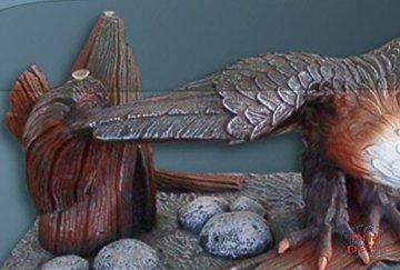 InterDecorShop Couchtisch Adler Wohnzimmertisch Tisch Glastisch ArtDeco Luxusmöbel - 3