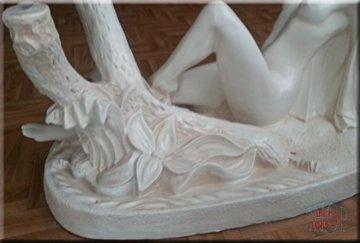 InterDecorShop Neuheit Designer Couchtisch Sexy Lady White Wohnzimmertisch Tisch Glastisch Luxusmöbel - 3