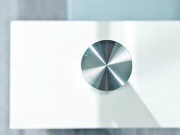 Inter Link 50100040 Couchtisch Glas Weiß Wohnzimmertisch Wohnzimmer Tisch Beistelltisch 110x60 cm - 5