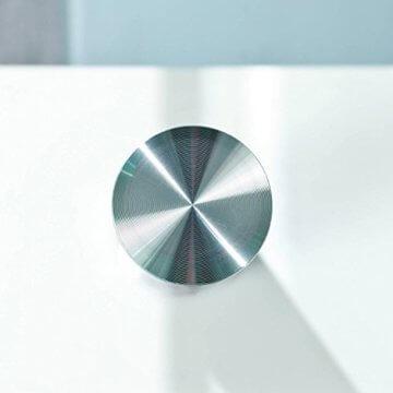 Inter Link 50100040 Couchtisch Glas Weiß Wohnzimmertisch Wohnzimmer Tisch Beistelltisch 110x60 cm - 9