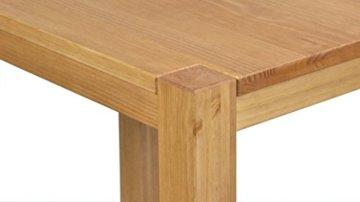 Naturholzmöbel Seidel Couchtisch, Beistelltisch,Rio Bonito, 100x70cm, Höhe 60cm, Pinie Massivholz, geölt und gewachst, Tisch Farbton Honig hell - 5