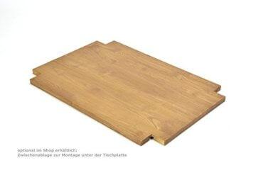 Naturholzmöbel Seidel Couchtisch, Beistelltisch,Rio Bonito, 100x70cm, Höhe 60cm, Pinie Massivholz, geölt und gewachst, Tisch Farbton Honig hell - 6