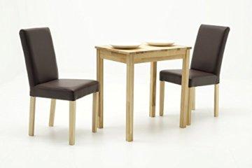 Robas Lund, Tisch, Esszimmertisch, Alfons, Kernbuche/Massivholz, 70 x 76 x 50 cm, ALF050KB - 3