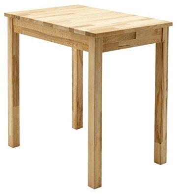 Robas Lund, Tisch, Esszimmertisch, Alfons, Kernbuche/Massivholz, 70 x 76 x 50 cm, ALF050KB - 1
