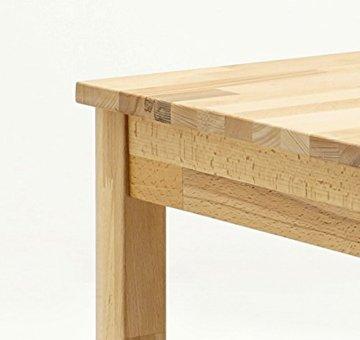 Robas Lund, Tisch, Esszimmertisch, Alfons, Kernbuche/Massivholz, 70 x 76 x 50 cm, ALF050KB - 5