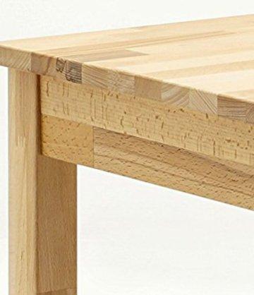 Robas Lund, Tisch, Esszimmertisch, Alfons, Kernbuche/Massivholz, 70 x 76 x 50 cm, ALF050KB - 9