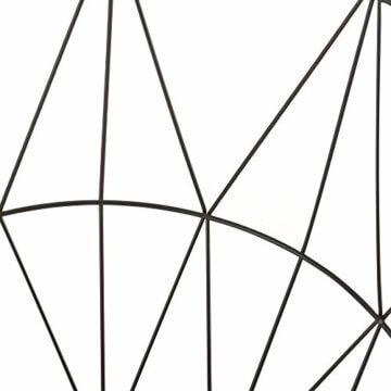 [en.casa] Beistelltisch 3er Set Couchtisch in 3 Größen Sofatisch aus Metall Kaffetisch mit abnehmbaren Deckeln Tablettisch Rund Wohnzimmertisch mit Stauraum Metallkörbe Schwarz/Holz - 5