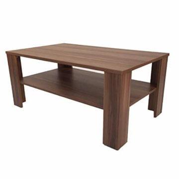 Möbel SD Couchtisch(Bea) Nussbaum/Walnuss(Nachbildung) Dekor. - 1