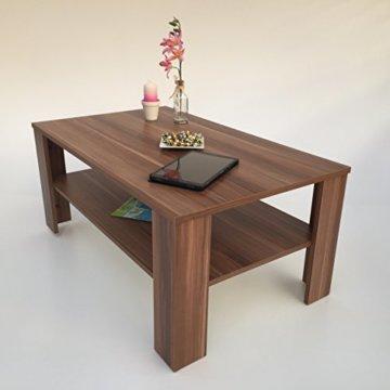 Möbel SD Couchtisch(Bea) Nussbaum/Walnuss(Nachbildung) Dekor. - 2