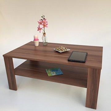 Möbel SD Couchtisch(Bea) Nussbaum/Walnuss(Nachbildung) Dekor. - 5