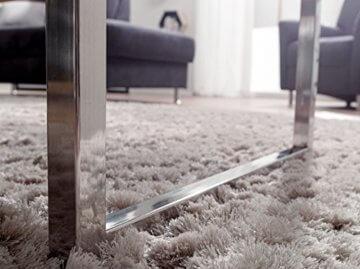 Wohnling Couchtisch GUNA Massiv-Holz Sheesham 120 cm breit Wohnzimmer-Tisch Design Landhaus-Stil Beistelltisch Natur-Produkt Wohnzimmermöbel Unikat modern Massivholzmöbel Echtholz rechteckig dunkel-braun - 6