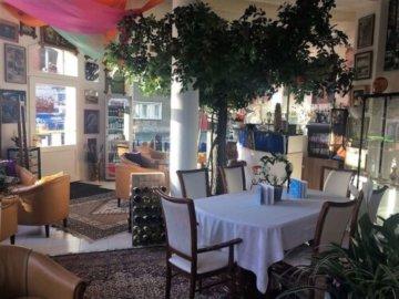 A.Gamba & L.Guerra Coffee Table Glastisch Couchtisch Modell  -Papillon für Naos-