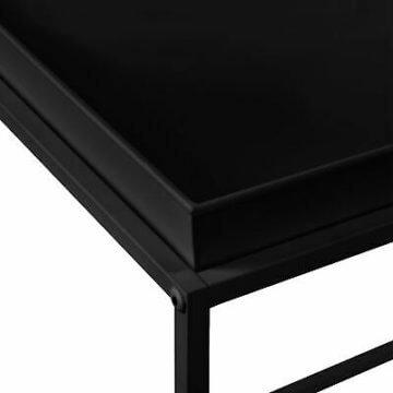 [en.casa] 2x Beistelltisch Couchtisch Sofatisch Set Tabletttisch Servier Tisch