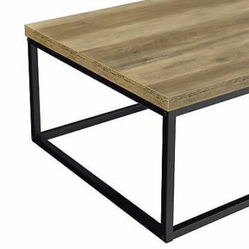 [en.casa]® Couchtisch 110x65x35cm Wohnzimmertisch Beistelltisch Holz-Optik MDF
