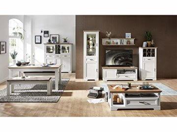 Couchtisch Wohnzimmertisch Beistelltisch Sofatisch Kaffeetisch Tisch Jillana I Pinie hell/Artisan Eiche - 4