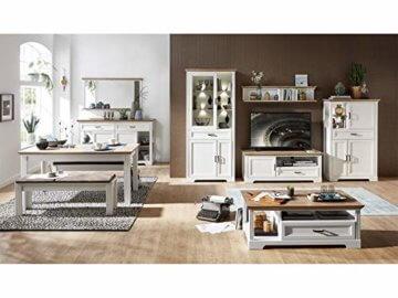 Couchtisch Wohnzimmertisch Beistelltisch Sofatisch Kaffeetisch Tisch Jillana I Pinie hell/Artisan Eiche - 5