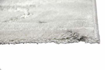 Merinos Marmorteppich mit Glanzfasern in Grau Größe 120x170 cm - 7