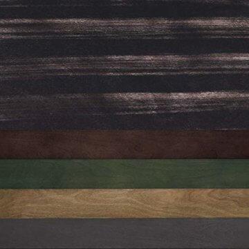 VASAGLE Couchtisch, Kaffeetisch, Wohnzimmertisch mit bunt gestreifter Ablage, Sofatisch mit Beinen aus Massivholz, für Ihr Wohnzimmer, Büro, Foyer, Aufbau ohne Werkzeug, Holzoptik, dunkelbraun LCT18GL - 7