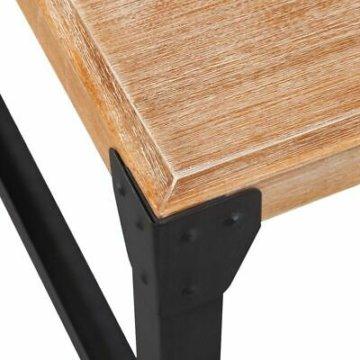 vidaXL 3-tlg. Wohnzimmermöbel-Set TV-Tisch Konsolentisch Möbel Massivholz Akazie